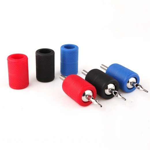 Disposable Knurled Silicone Rubber Tattoo Grip Covers