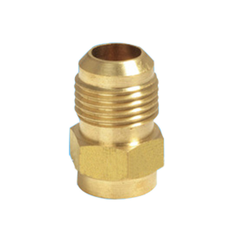 Brass Flare to Solder Union