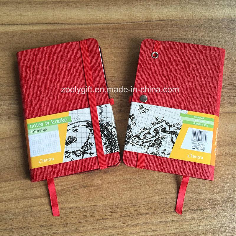 Customized Promotional A6 PU Leather Moleskine Notebook