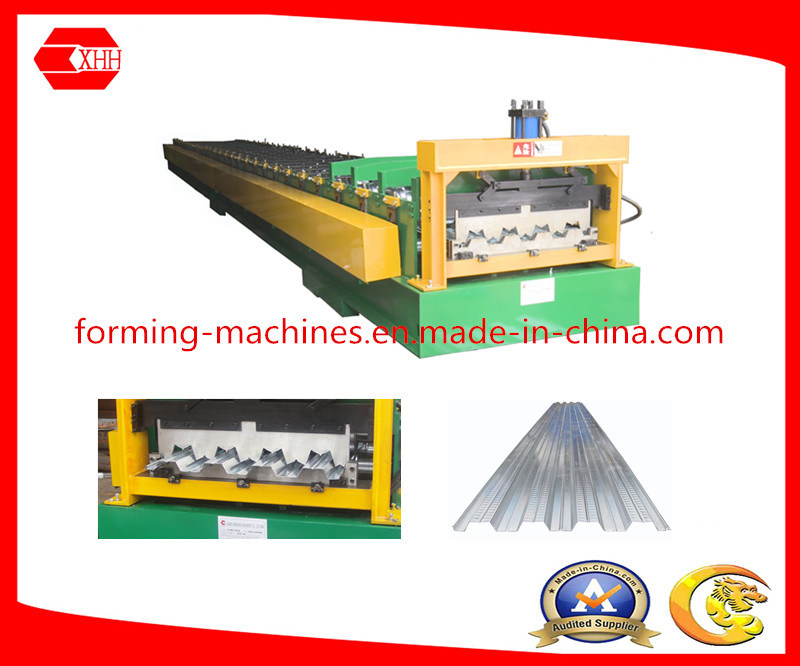 Color Roof Panel Cold Roll Forming Machine
