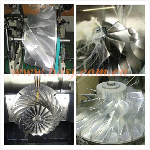 Turbo Billet Compressor Wheel Rhg6 Fit Vd53 Cidb 114400-3980 Vxdh Turbocharger Chra High Performance Impeller