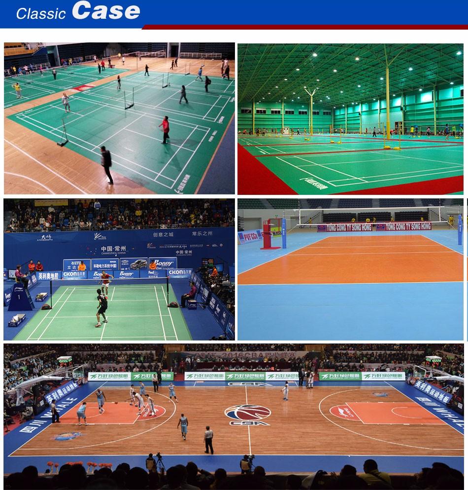 PVC sports Flooring factory