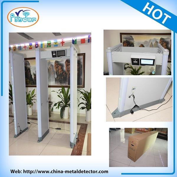 24 Zones LCD Touch Screen Door Frame Metal Detector