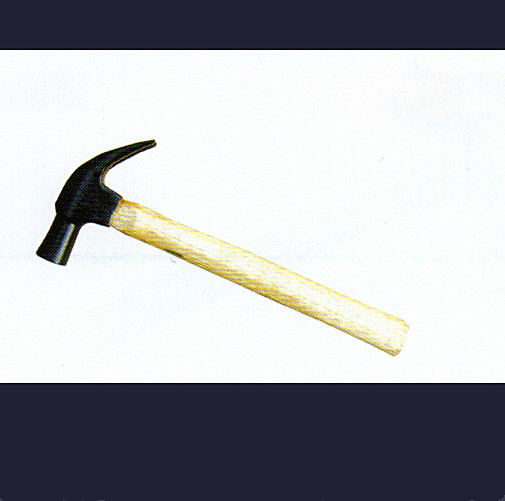 British-Type Claw Hammer with Wooden Handles