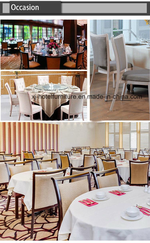Cheap Steel/Aluminum Imitated Wood Chair for Banquet/Restaurant/Hotel/Wedding
