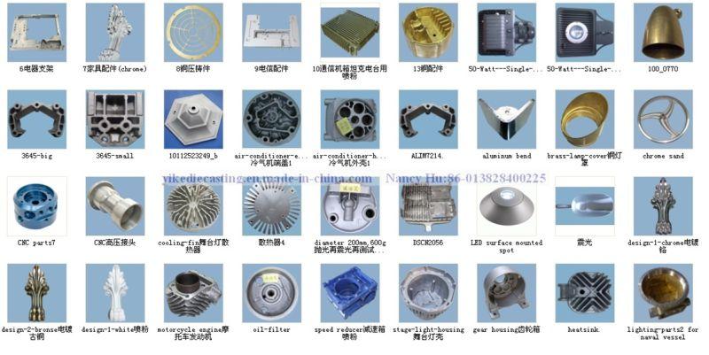Die Casting Lamp Parts, Aluminum Die Casting