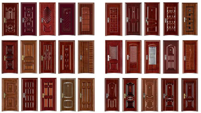 China Supplier Iron Security Doors