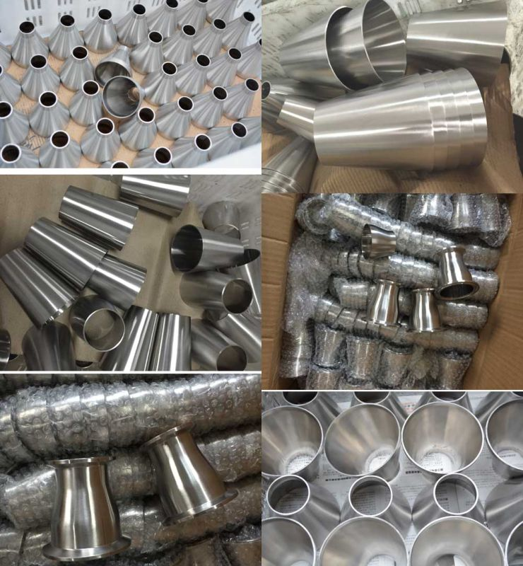 Stainless Steel Clamped End Sanitary Con Reducer (JN-FT5002)
