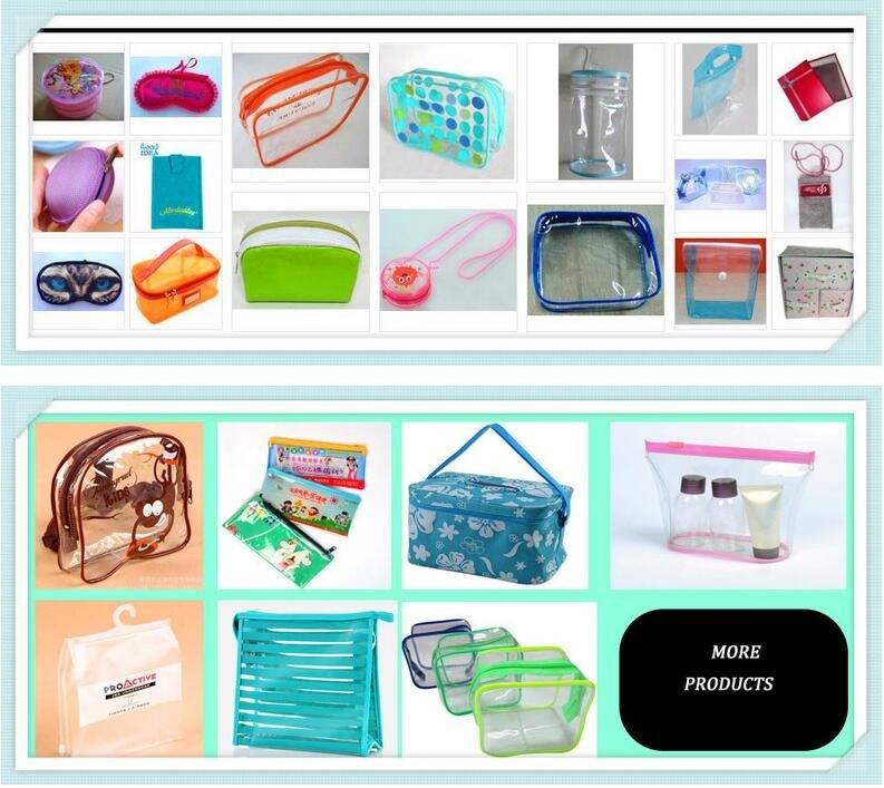 2 Packs Clear Cosmetics Bag Waterproof Travel Bag Toiletry Organizer Case