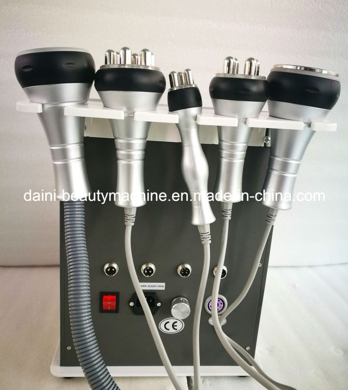 5 in 1radio Frequency Cavitation Multipolar Bipolar Tripolar Cellulite Machine Vacuum Cavitation System