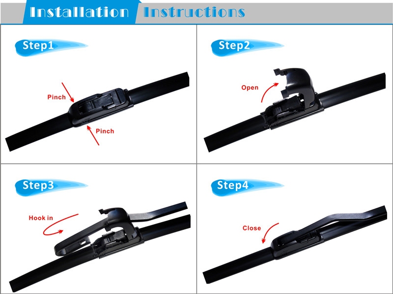 Car Spares Best Selling Products Aero Flat Wiper Blades