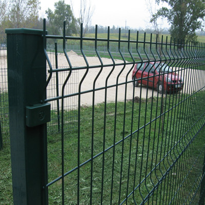 Residence Welded Wire Mesh Security Fence