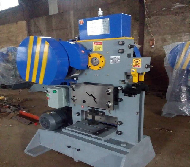 Angle Steel Shearing Cutting Machine From Matata