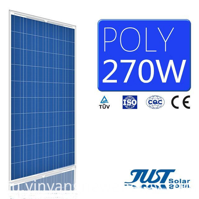 270W Polycrystalline PV Moduel for Green Power