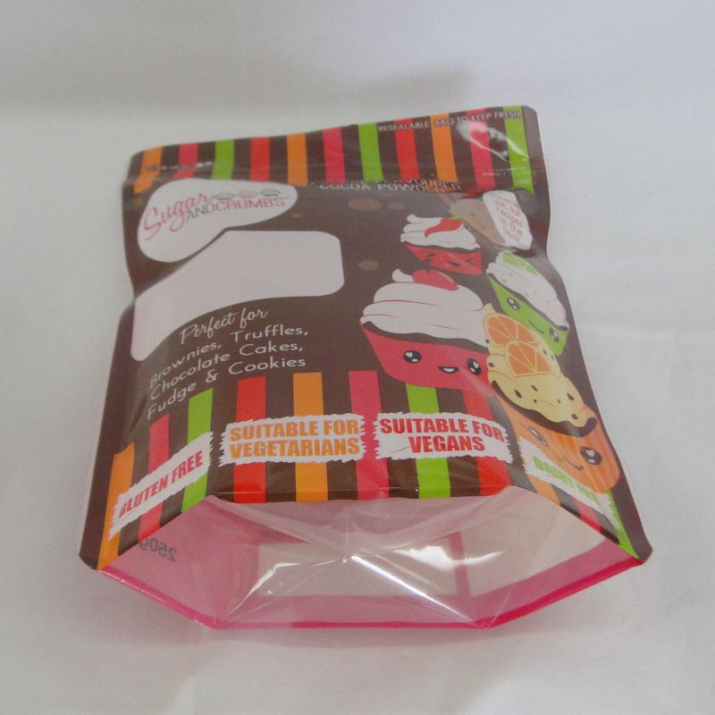 Ziplock Aluminum Foil Pouch for Food Packaging