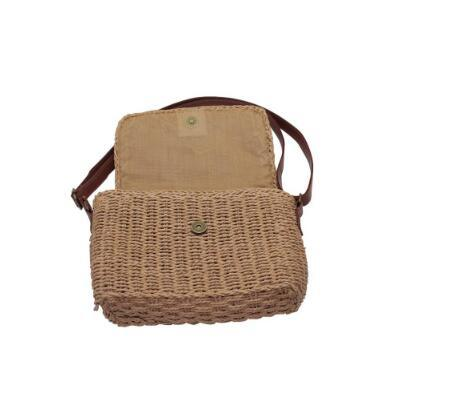 Straw Beach Bag Jute Bag for Women Eco-Friendly and Natural Material Lady Shoulder Bag