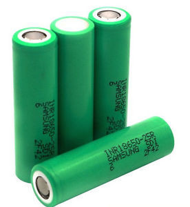 25A Discharge Current for Samsung-25r Li-ion Rechargeable Battery