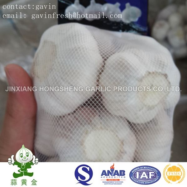 Fresh New Crop Normal White Garlic Size 5.0cm