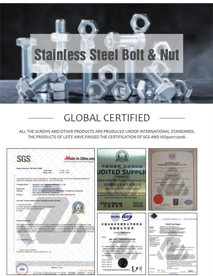 Stainless Steel Special Standard Thread U Bolt