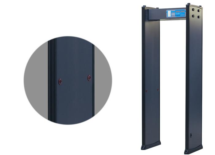 Multi-Zone Door Frame Detector 200 Level Schools Body Scaner Security Metal Detectors