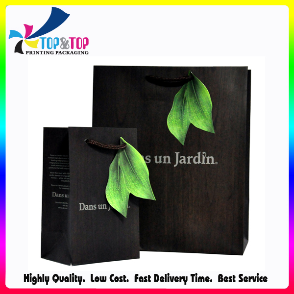 Widely Use Unique Design Recycled Plain Paper Bag