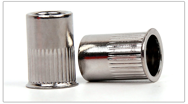 Stailess Steel Knurled Small Countersunk Blind Rivet Nut