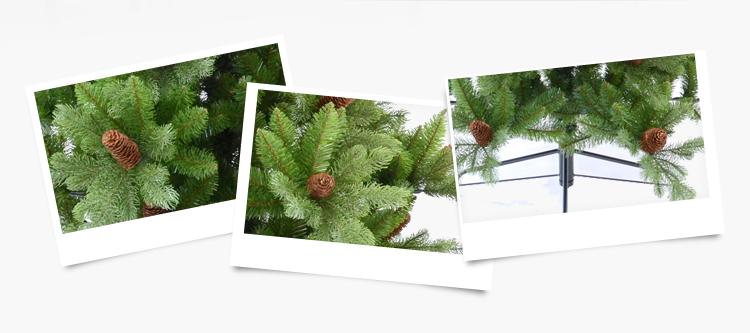 H120cm-300cm Plastic Customized Christmas Tree Christmas Tree Ornament for Christmas