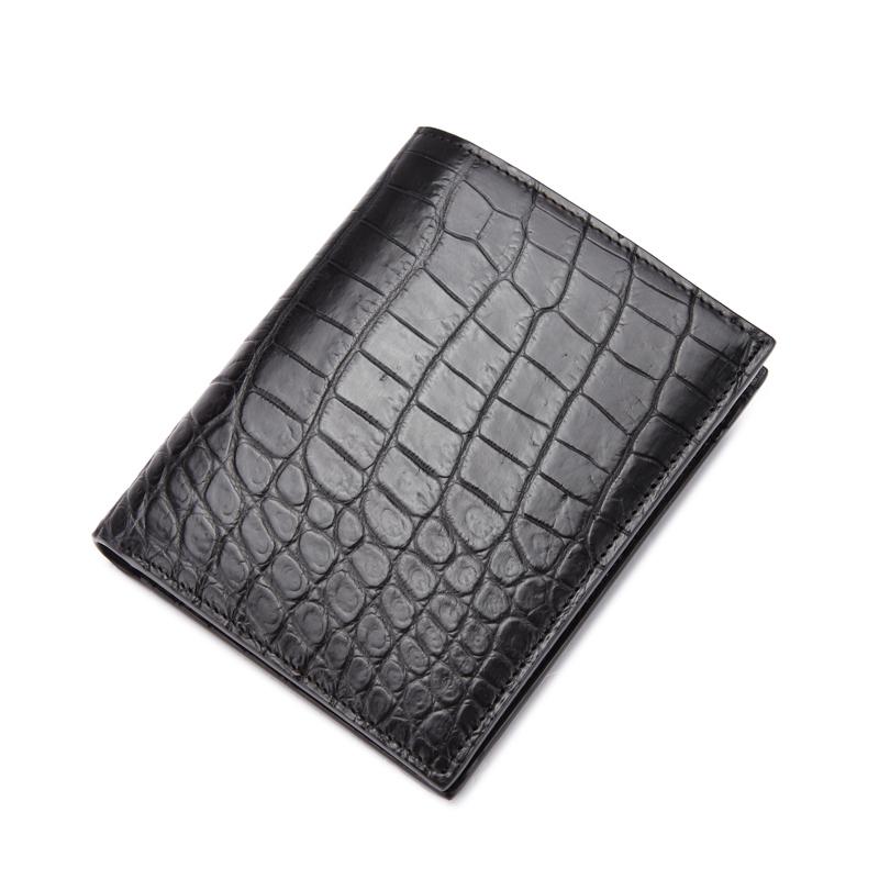 Luxury Crocodile Men Wallets Genuine Leather Coin Wallet