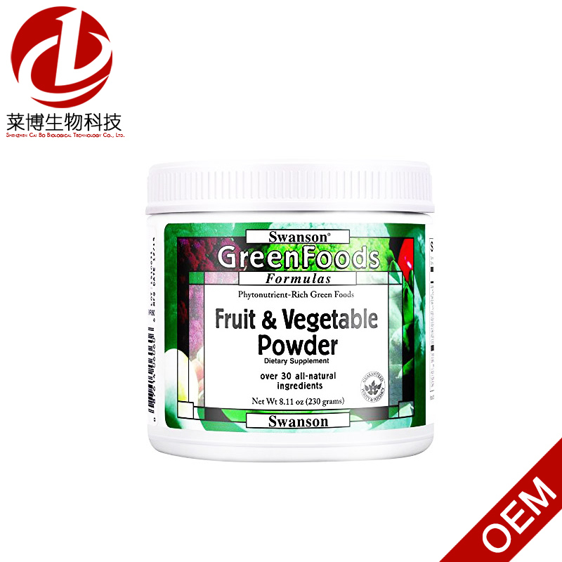 Swanson Greenfoods Formulas Certified Organic Raw Super Food Powder