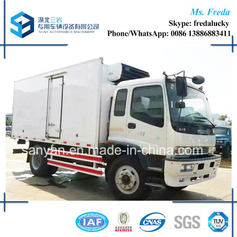 Isuzu Fvr 10t 6.4m Refrigerator Truck Freezer Truck