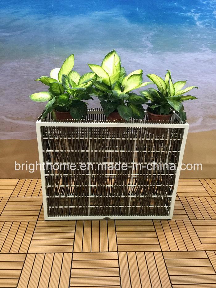 Woven Rattan Style Flower Pot
