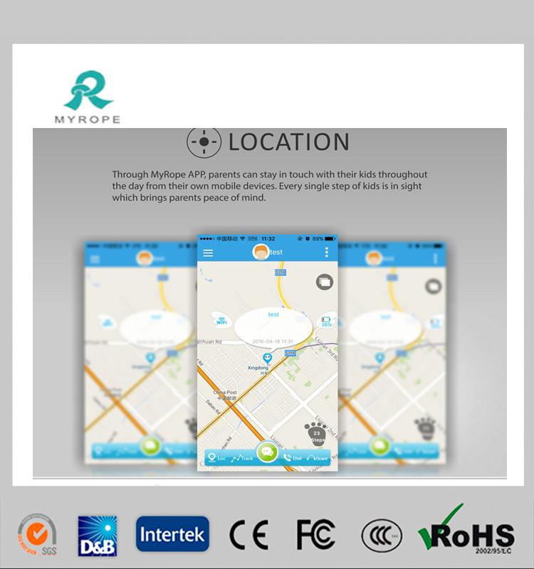 Portable Wrist Watch GPS Tracking