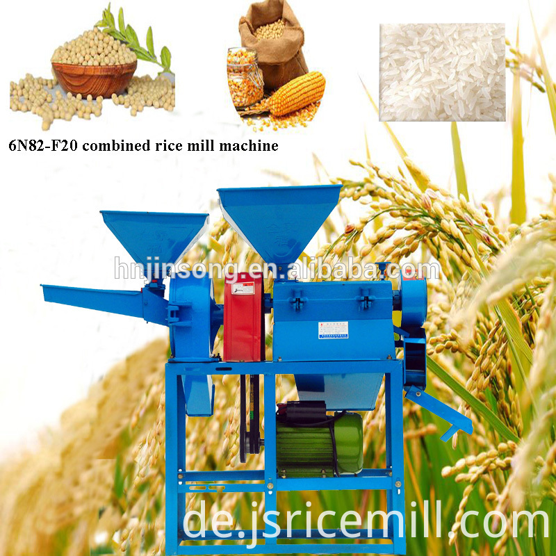 Fully Automatic Rice Mill Machine