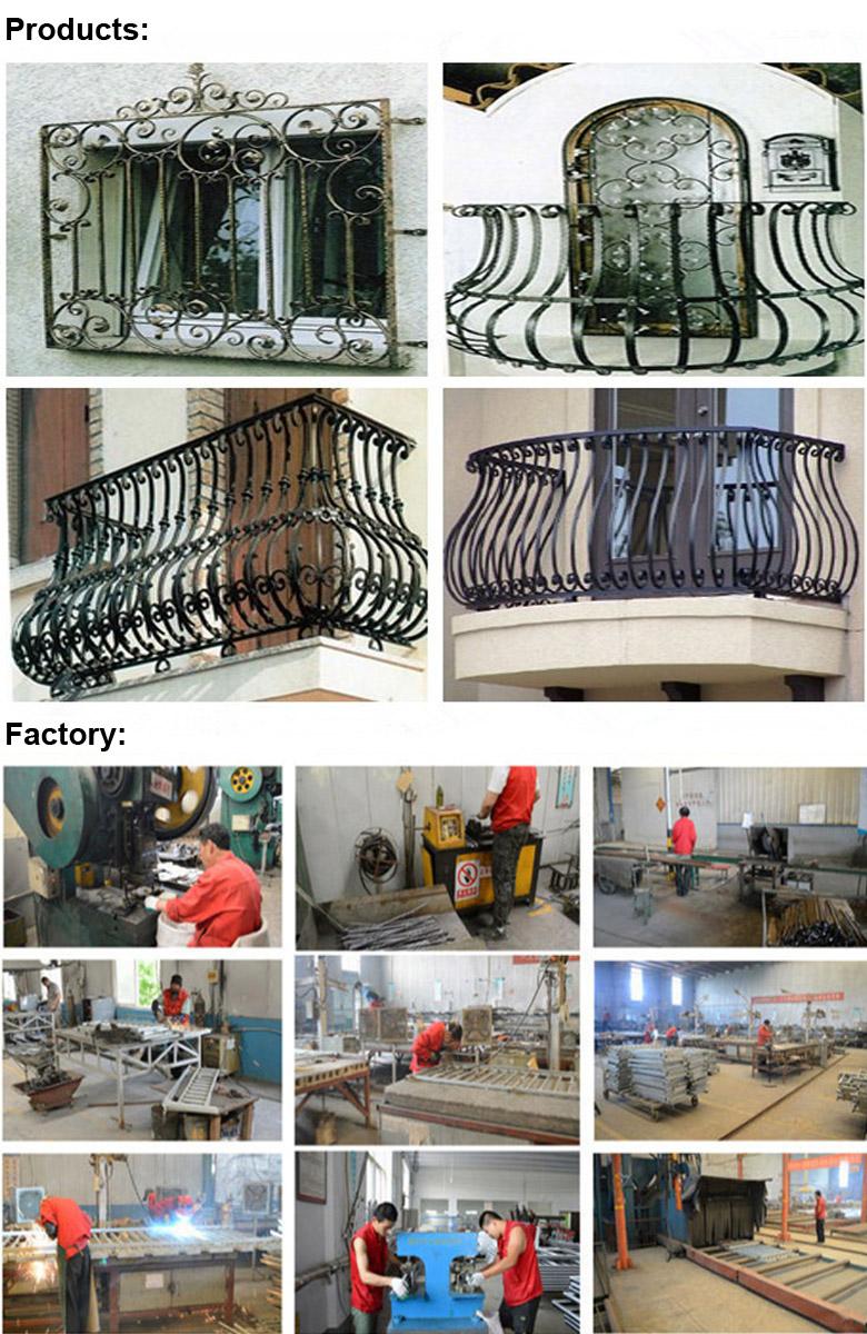 Beautiful Ornamental Wrought Iron Handrailing