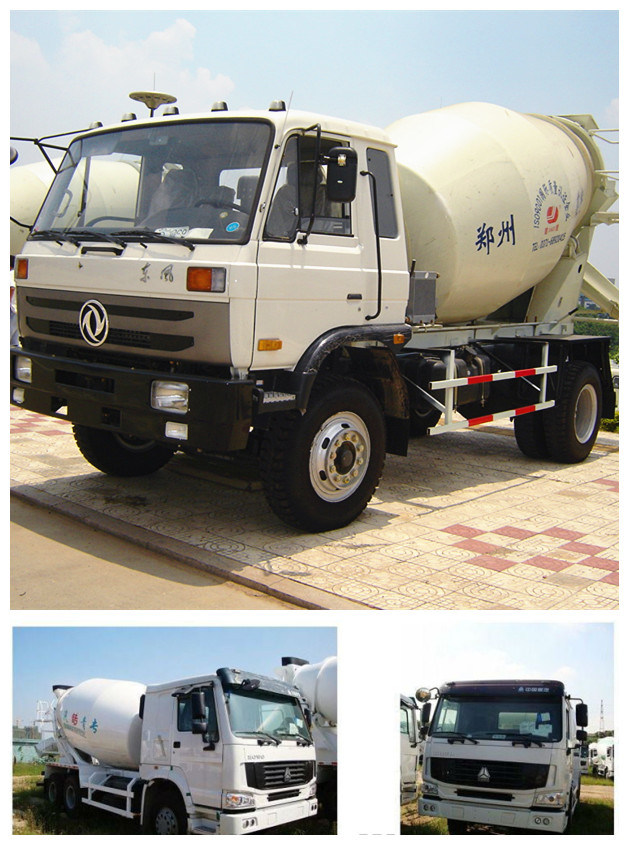 8 Cubic Meters Concrete Mixer Truck in China