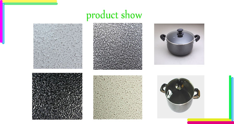 High Temperature Resistant Hybrid Spray Powder Coating Paint for Sauce Pot