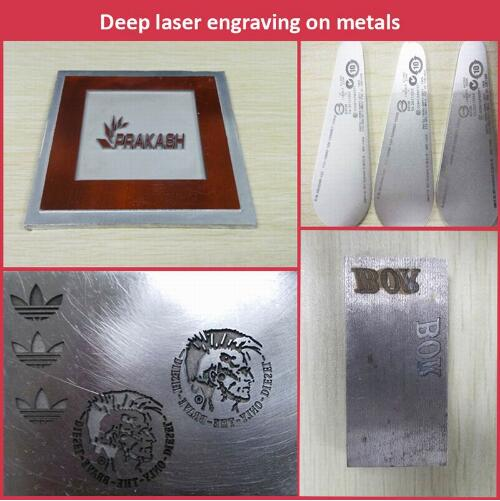 Hard Coat Anodized Aluminum Laser Marking Machine/Aluminium Laser Marking