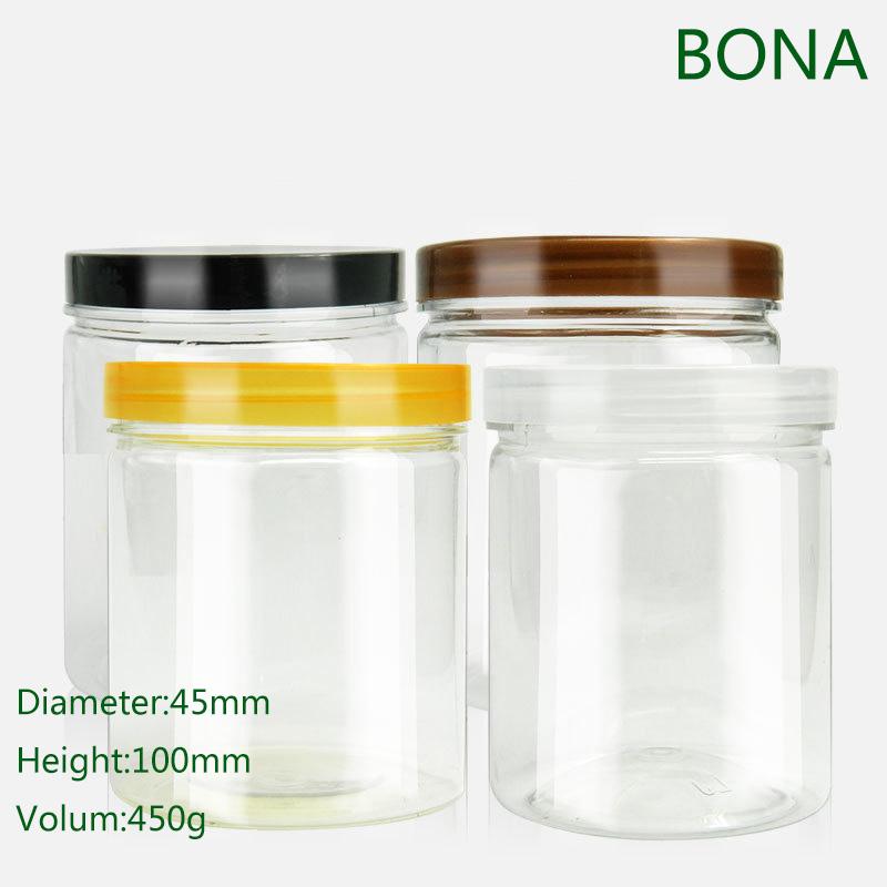 Colorful PETG Plastic Cream Jars