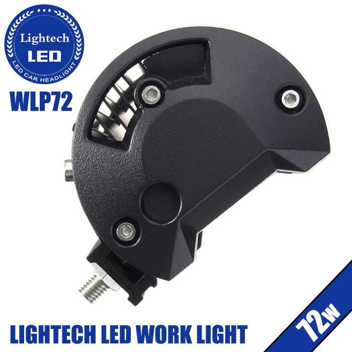 Lightech Auto Light System Dual Color Strobe Light 12V 6500K IP67 4X4 3 Inch LED Work Light