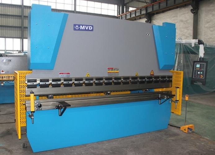 Aluminum Steel Bending Machine Professional Manufacturer Mvd Hydraulic Press Brake Machine