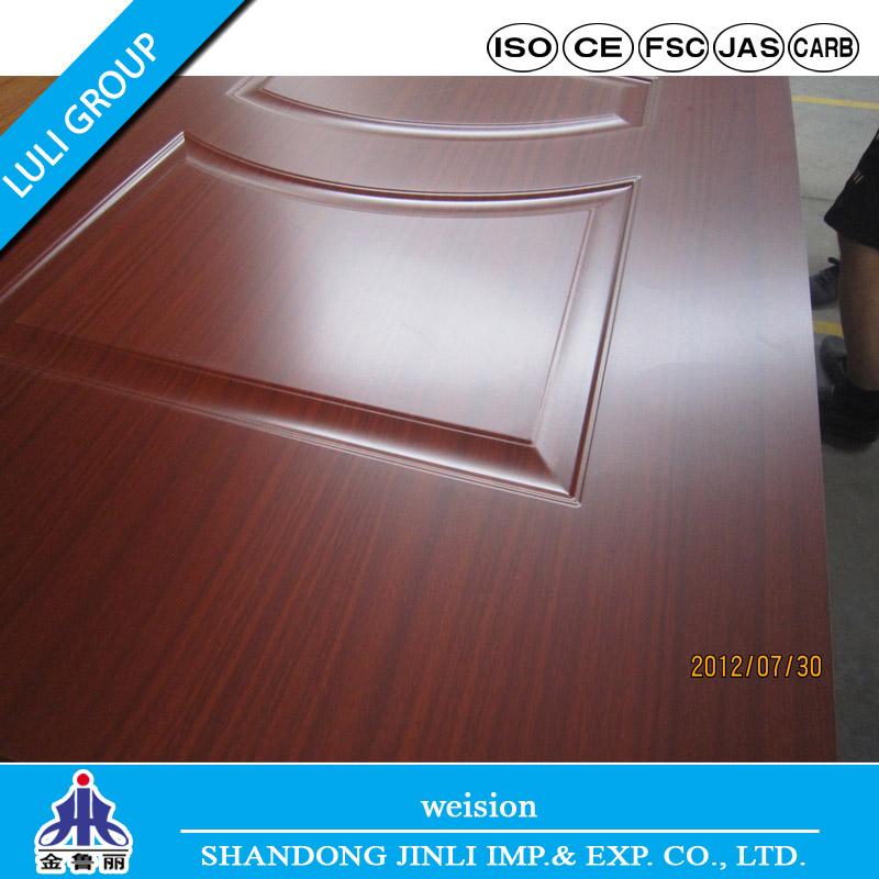New Design Melamine Door Skin From Luli Group