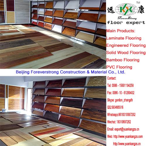 Antique Luxurious Embossed Multi-Layer Engineered Flooring