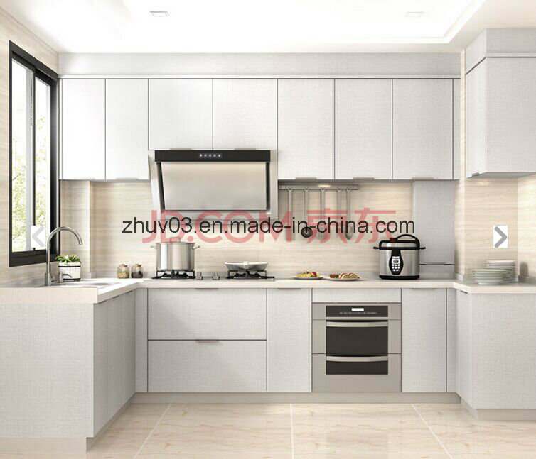 Customized Anti Scartch White Wood Kitchen Cupboard (many colors)
