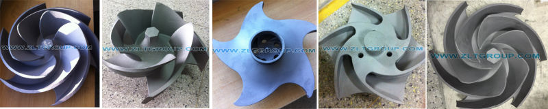 Centrifugal Durco Mark 3 Pump Impeller for 3X2-13 Size with Titanium Alloy 316ss or CD4