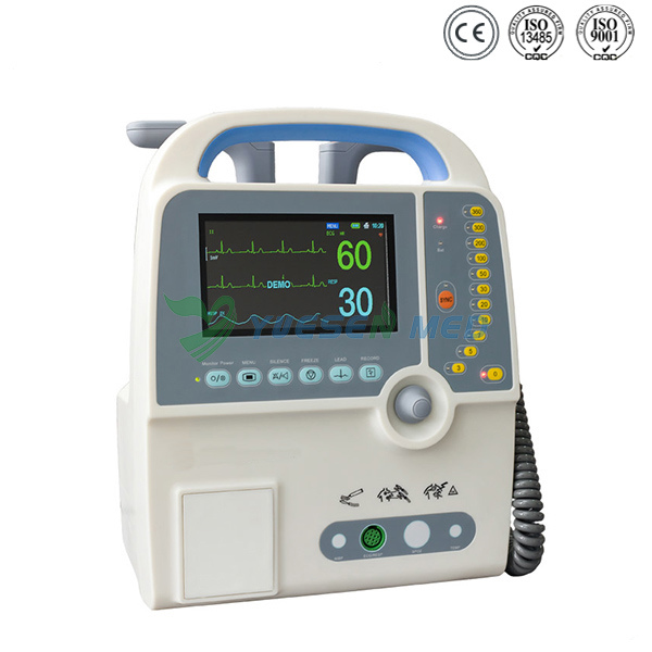 Medical Portable Biphasic Aed Automated External Cardiac Defibrillator