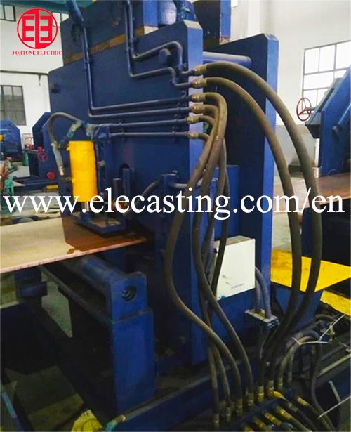 Big Size Brass Strip Horizontal Continuous Casting Machine
