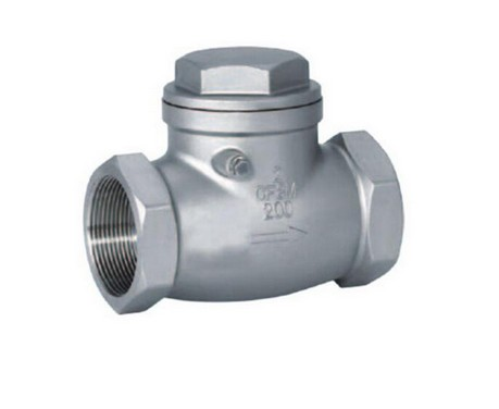Stainless Steel Sanitary Swing Female Check Valve