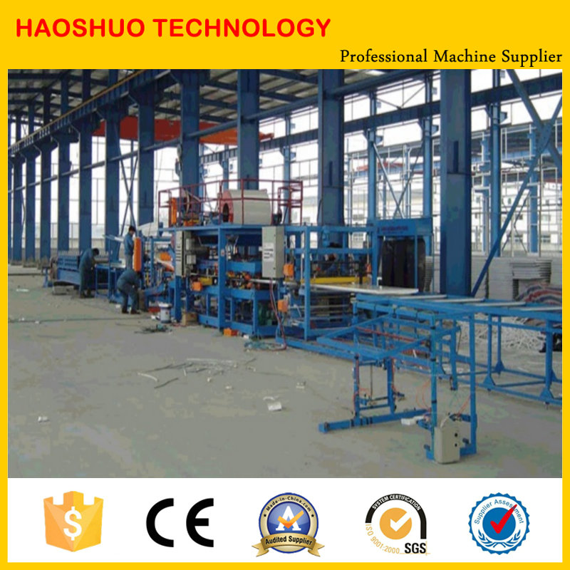 Heat Presevation Continuous EPS Sandwich Panel Making Machine, Equipment