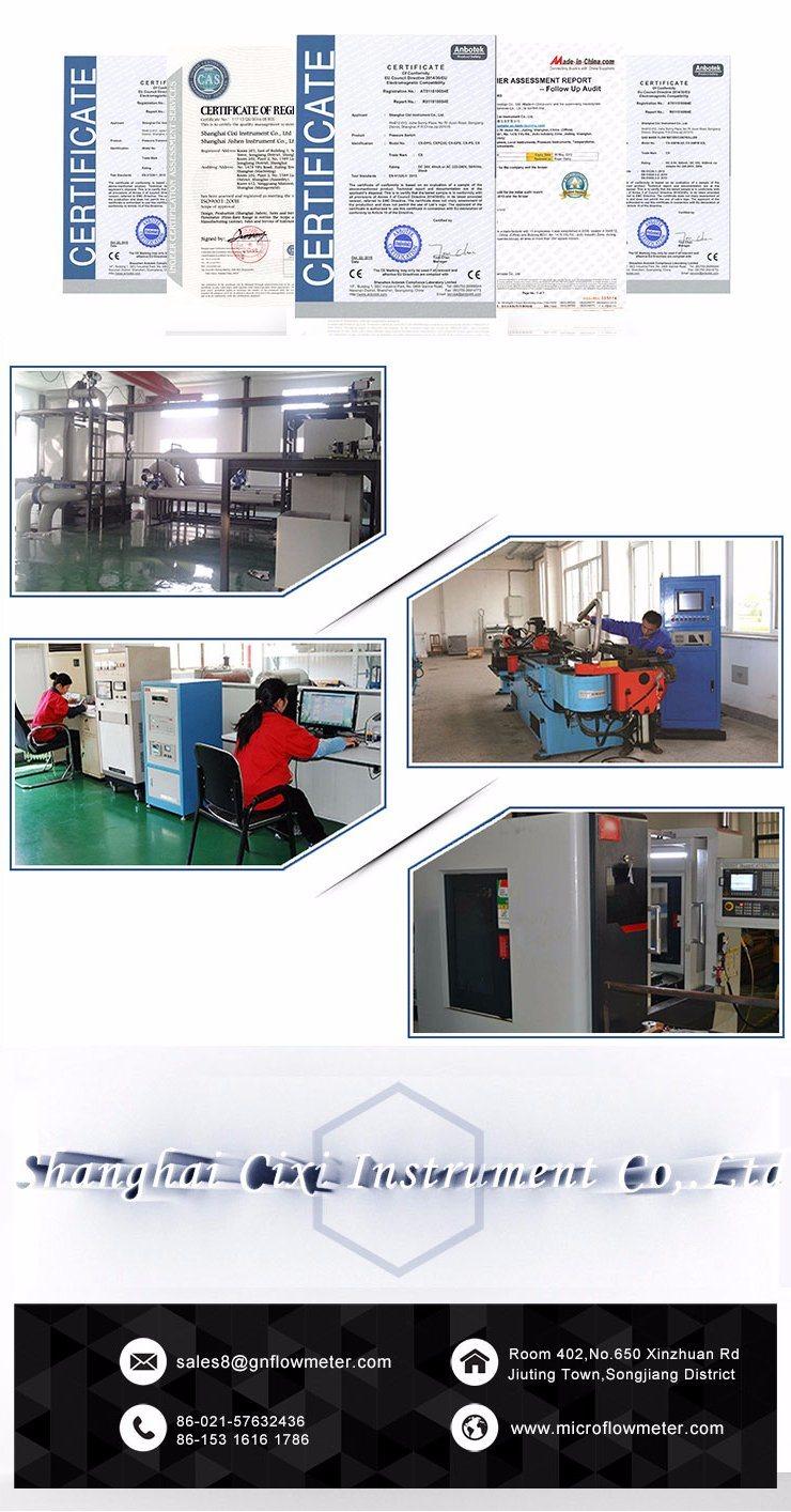 Stainless Steel Material LPG Gas Vortex Flow Meter