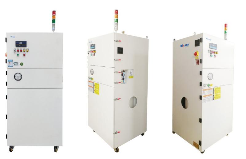 Filtro de ar industrial com instalação vertical do coletor de poeira do cartucho